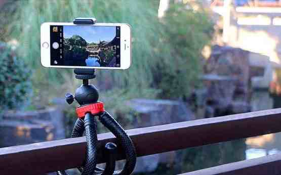 Flexible Mini Tripod with ball head