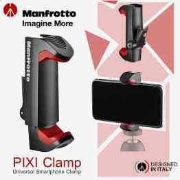 Manfrotto PIXI Smartphone Clamp