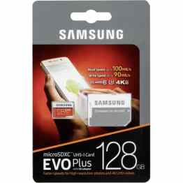 Samsung Evo Plus microSDXC 128GB U3