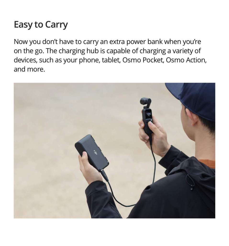 Mavic Mini Two-Way Charging Hub